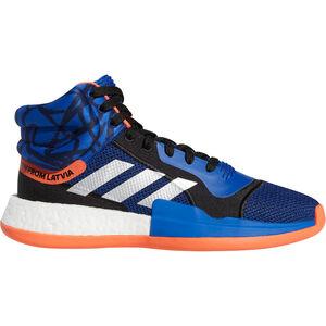 Marquee BOOST Kristaps Porzingis Basketballschuhe Herren, blau / orange, zoom bei OUTFITTER Online