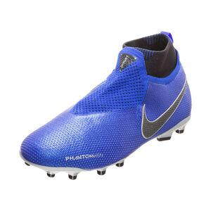 Phantom Vision Elite DF MG Fußballschuh Kinder, blau / schwarz, zoom bei OUTFITTER Online