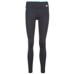 Accelerate Colorblock Lauftight Damen, schwarz / rot, zoom bei OUTFITTER Online