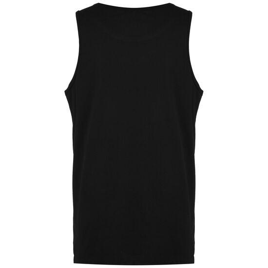 Dry Tanktop Herren, schwarz / dunkelrot, zoom bei OUTFITTER Online