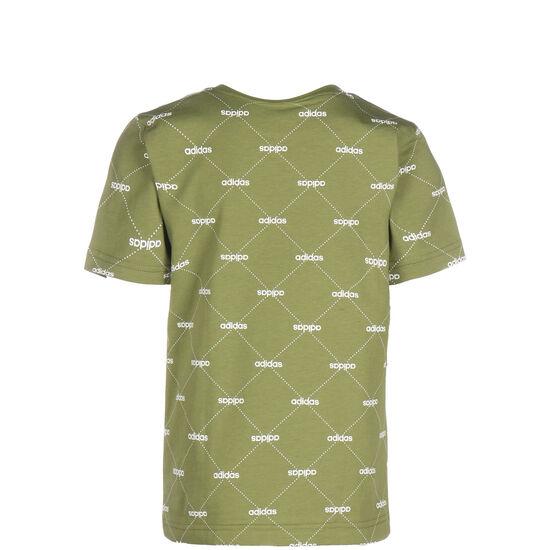 CF T-Shirt Kinder, grün / weiß, zoom bei OUTFITTER Online