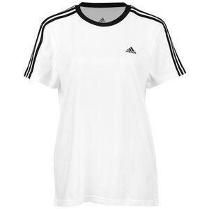 3-Streifen T-Shirt Damen, weiß / schwarz, zoom bei OUTFITTER Online