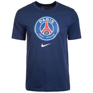 Paris Saint-Germain Evergreen Crest T-Shirt Herren, dunkelblau, zoom bei OUTFITTER Online