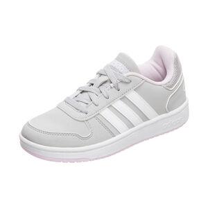 Hoops 2.0 Sneaker Kinder, grau / weiß, zoom bei OUTFITTER Online