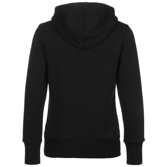 Badge Of Sport Fleece Kapuzenpullover Damen, schwarz / weiß, zoom bei OUTFITTER Online