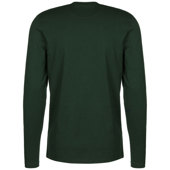 LS Crew Neck T-Shirt Herren, grün, zoom bei OUTFITTER Online