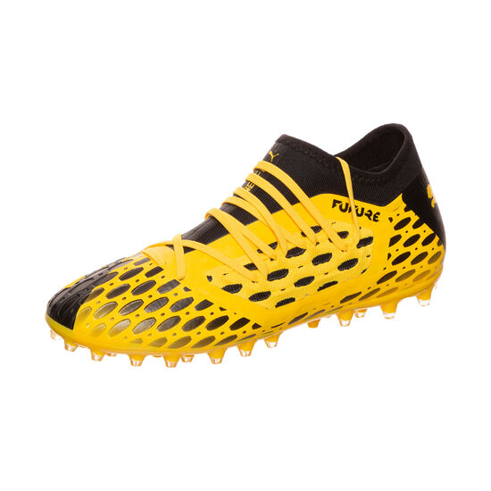 Future 5.3 NETFIT MG Fußballschuh Kinder, gelb / schwarz, zoom bei OUTFITTER Online