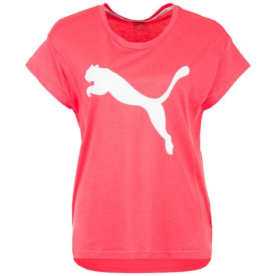 Active Logo T-Shirt Damen, korall, zoom bei OUTFITTER Online