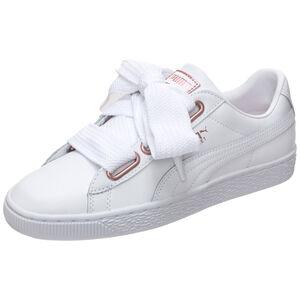 Basket Heart Leather Sneaker Damen, Weiß, zoom bei OUTFITTER Online