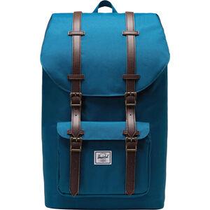 Little Amerika Rucksack, blau / braun, zoom bei OUTFITTER Online