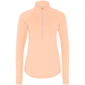ColdGear Threadborne True 1/2 Zip Laufshirt Damen, korall / silber, zoom bei OUTFITTER Online