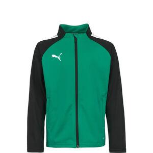 TeamLIGA Trainingsjacke Kinder, grün / schwarz, zoom bei OUTFITTER Online