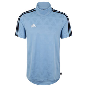 Tango JQ Trainingsshirt Herren, blau / schwarz, zoom bei OUTFITTER Online