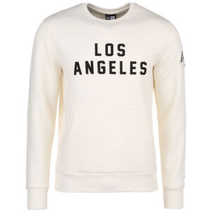 NBA Wordmark Los Angeles Lakers Sweatshirt Herren, beige / schwarz, zoom bei OUTFITTER Online