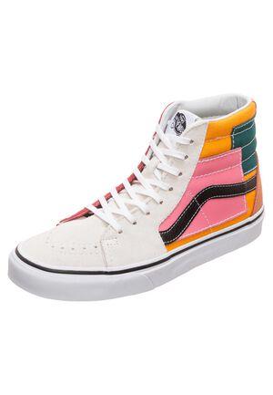 Sk8-Hi Patchwork Sneaker, bunt, zoom bei OUTFITTER Online