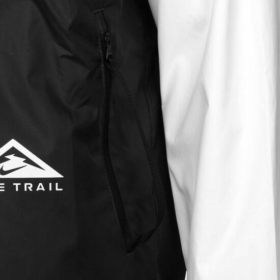 Trail Windrunner Laufjacke Herren, schwarz / weiß, zoom bei OUTFITTER Online
