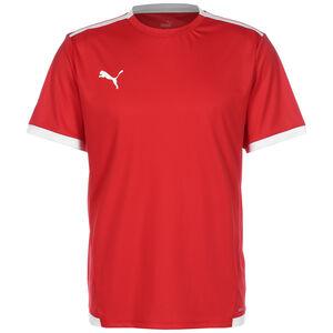 TeamLIGA Fußballtrikot Herren, rot / weiß, zoom bei OUTFITTER Online
