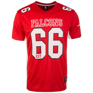 NFL Moro Poly Mesh Atlanta Falcons T-Shirt Herren, rot / weiß, zoom bei OUTFITTER Online