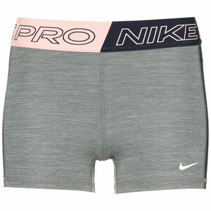 Pro 3 Inch Trainingsshorts Damen, grau / rosa, zoom bei OUTFITTER Online