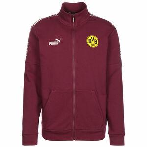 Borussia Dortmund BVB ftblCulture Trainingsjacke Herren, bordeaux / gelb, zoom bei OUTFITTER Online