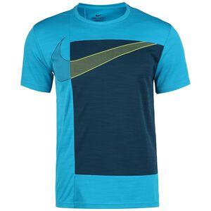 Superset Trainingsshirt Herren, dunkelblau / hellblau, zoom bei OUTFITTER Online