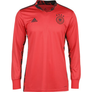 DFB Torwarttrikot Home EM 2020 Herren, rot / schwarz, zoom bei OUTFITTER Online