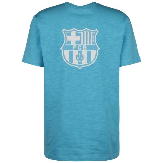 FC Barcelona T-Shirt Herren, türkis / weiß, zoom bei OUTFITTER Online