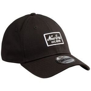 9FORTY Script Patch Strapback Cap, schwarz, zoom bei OUTFITTER Online
