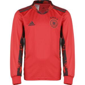 DFB Torwarttrikot Home EM 2020 Kinder, rot / schwarz, zoom bei OUTFITTER Online
