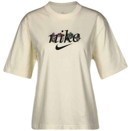 Boxy Nature T-Shirt Damen, beige / schwarz, zoom bei OUTFITTER Online