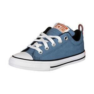 Chuck Taylor All Star Street Sneaker Kinder, hellblau / weiß, zoom bei OUTFITTER Online