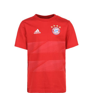 FC Bayern München Graphic T-Shirt Kinder, rot, zoom bei OUTFITTER Online