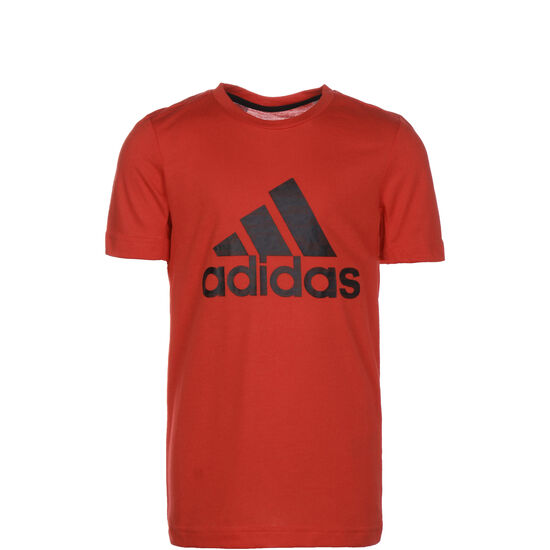 Prime Trainingsshirt Kinder, rot / schwarz, zoom bei OUTFITTER Online