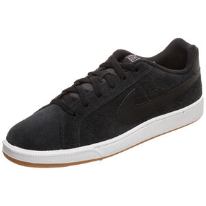 Court Royale Suede Sneaker Damen, schwarz / pink, zoom bei OUTFITTER Online