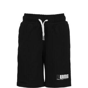 Alpha Jersey Shorts Kinder, schwarz / weiß, zoom bei OUTFITTER Online