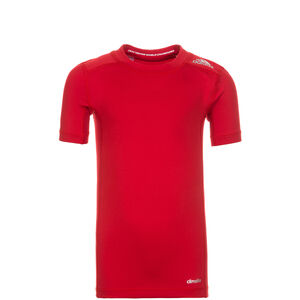 TechFit Base Trainingsshirt Kinder, Rot, zoom bei OUTFITTER Online
