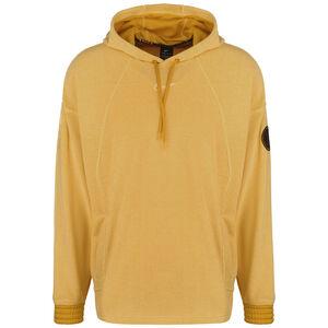Fleece Trainingspullover Herren, dunkelgelb / gelb, zoom bei OUTFITTER Online