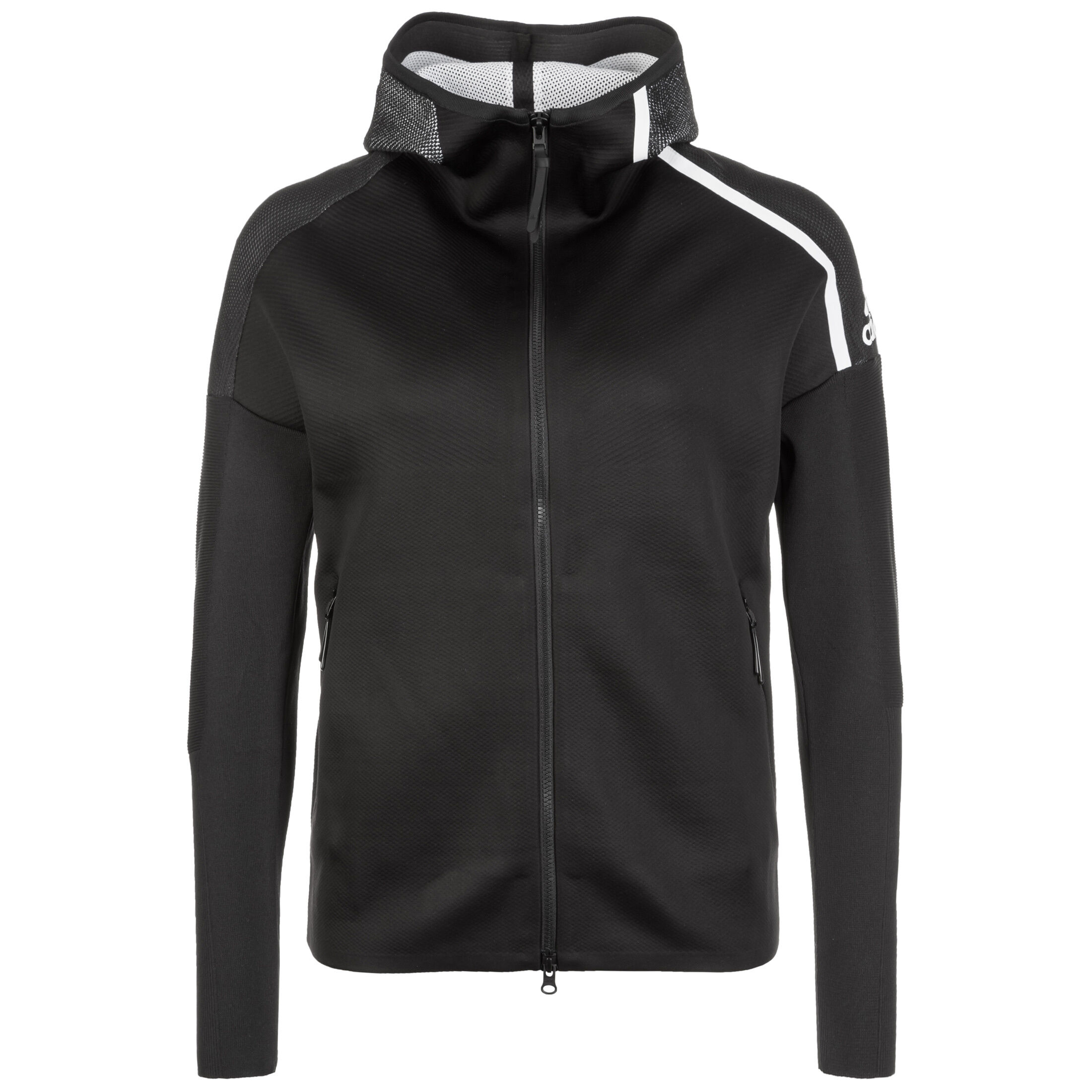 Adidas Kapuzenjacke Z.N.E. Primeknit schwarzweiß kaufen