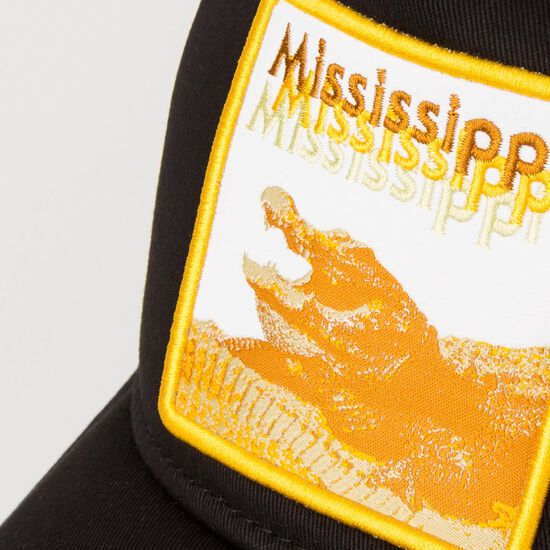 9Forty Mississippi Gator Trucker Cap, , zoom bei OUTFITTER Online