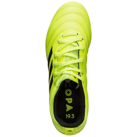 Copa 19.3 FG Fußballschuh Kinder, neongelb / schwarz, zoom bei OUTFITTER Online