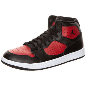 Jordan Access Sneaker Herren, schwarz / rot, zoom bei OUTFITTER Online