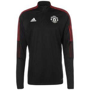 Manchester United Trainingssweat Herren, schwarz / rot, zoom bei OUTFITTER Online