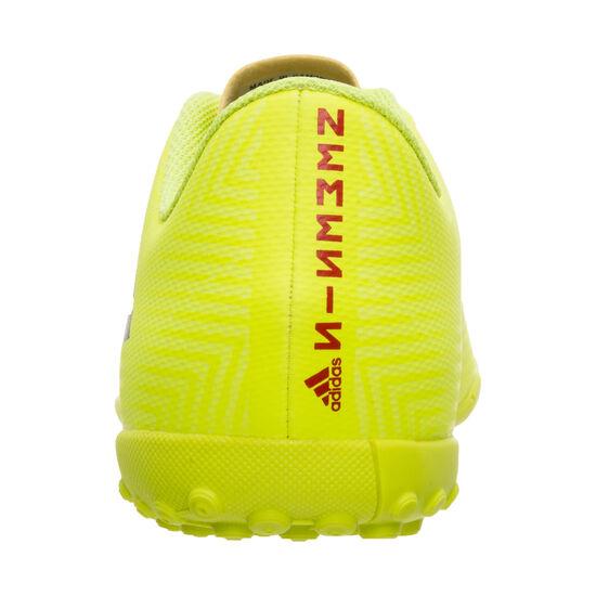 Nemeziz 18.4 TF Fußballschuh Kinder, neongelb / blau, zoom bei OUTFITTER Online