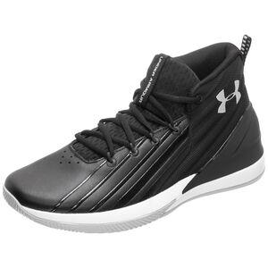 Lockdown 3 Basketballschuh Herren, schwarz / weiß, zoom bei OUTFITTER Online