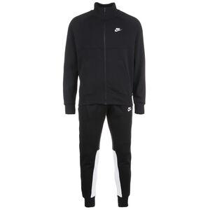 CE Fleece Jogginganzug Herren, schwarz / weiß, zoom bei OUTFITTER Online
