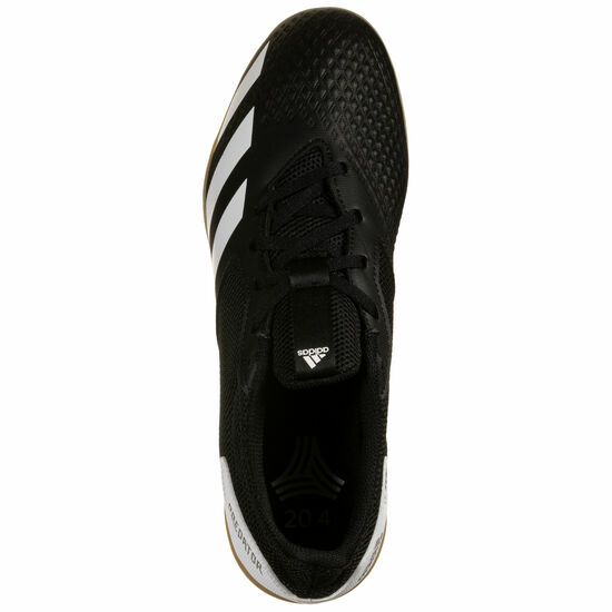 Predator 20.4 Sala Indoor Fußballschuh Herren, schwarz / weiß, zoom bei OUTFITTER Online