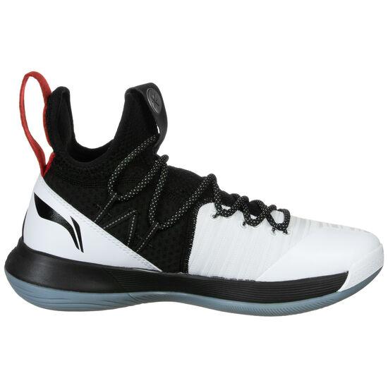 All I Team VI Wade Basketballschuh Herren, weiß / schwarz, zoom bei OUTFITTER Online