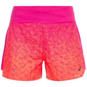 3.5in Print Laufshort Damen, korall / pink, zoom bei OUTFITTER Online