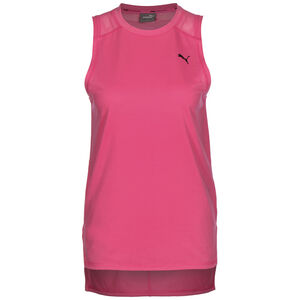 Mesh Panel Trainingstop Damen, pink / rosa, zoom bei OUTFITTER Online