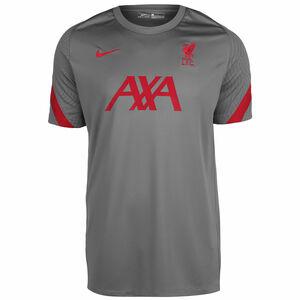 FC Liverpool Breathe Strike Trainingsshirt Herren, grau / rot, zoom bei OUTFITTER Online
